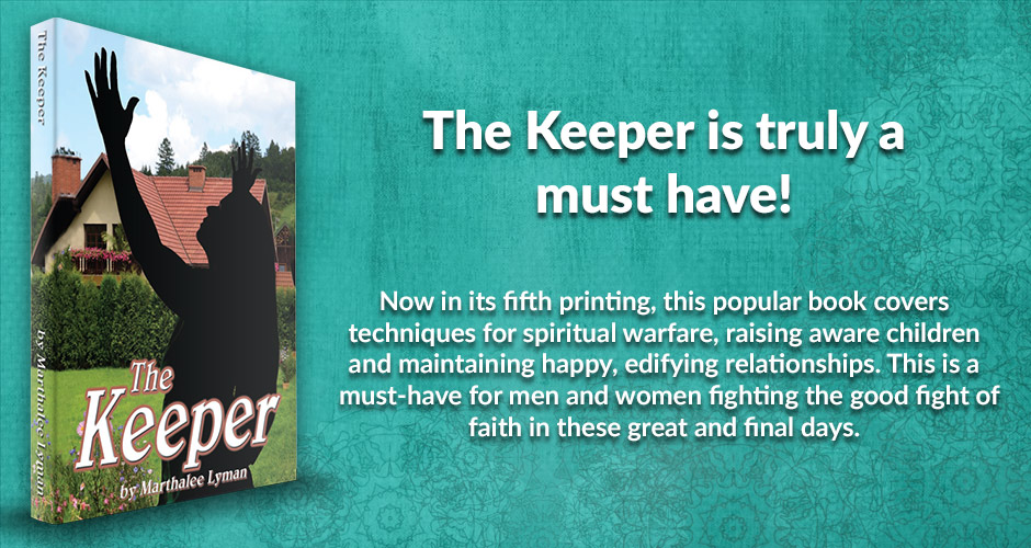 Now in its fifth printing, this popular book covers techniques for spiritual warfare, raising aware children and maintaining happy, edifying relationships. This is a must-have for men and women fighting the good fight of faith in these great and final days.