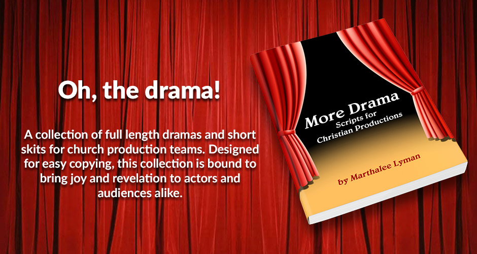 A collection of full length dramas and short skits for church production teams. Designed for easy copying, this collection is bound to bring joy and revelation to actors and audiences alike.